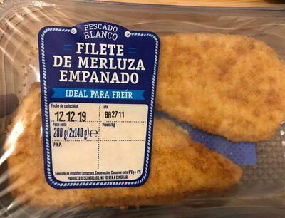 Filete de merluza empanado