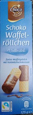 Zartes Waffelgebäck mit Vollmilchschokolade (26%)