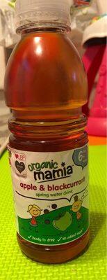 Organic Mamia apple & blackcurrant spring water drink