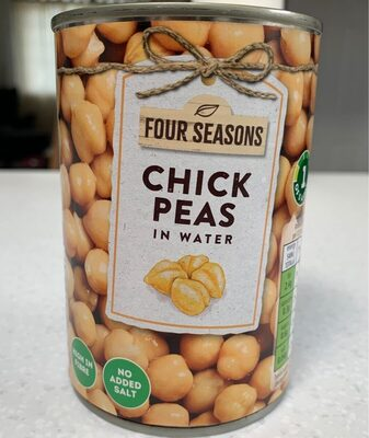 Chick peas in water