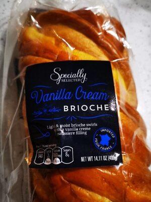Vanilla cream brioche