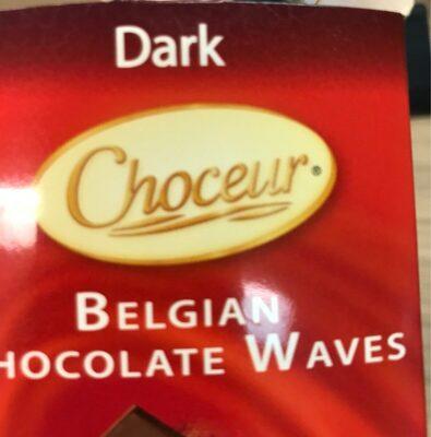 Belgian chocolate waves
