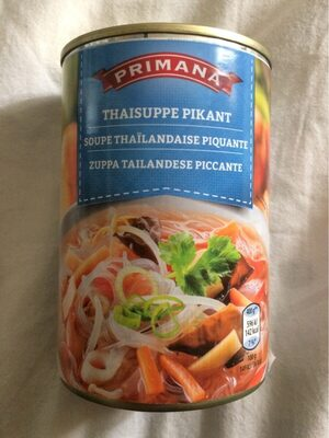 Soupe Thaïlandaise piquante