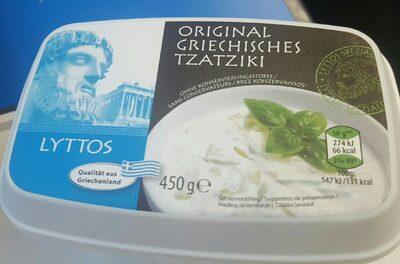 Original griechisches tzaziki