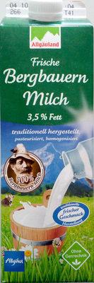 Frische Bergbauern Milch 3,5% Fett