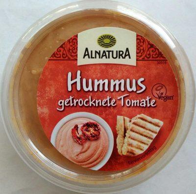 Hummus getrocknete Tomate