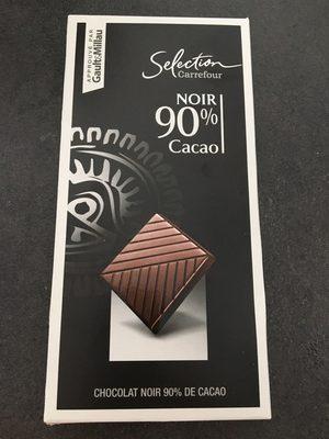 Chocolat noir 90 % cacao