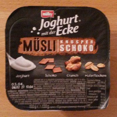 Joghurt mit der Ecke Müsli Knusper Schoko