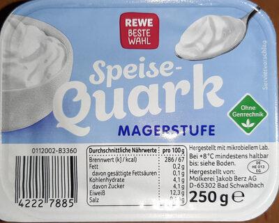 Speise Quark Magerstufe