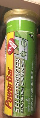 Powerbar 5 Electrolytes Sports Drink Mango maracuja 42 g