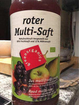 Greenorganics Roter Multi-saft, Mehrfruchtsaft Mit. ..