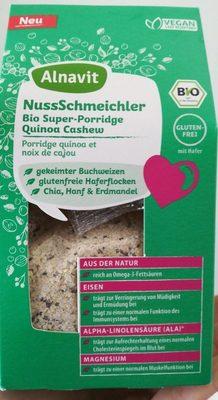 Bio Super Porridge Quinoa Cashew