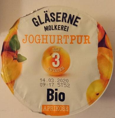 Gläserne Molkerei Joghurt Pur Aprikose