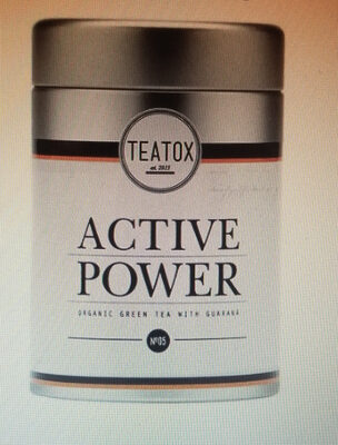 Teatox Bio Active Power Grüner Tee, Lose