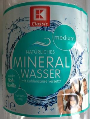 Mineralwasser Medium
