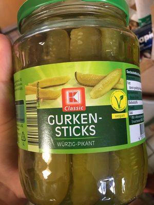 Gurkensticks Würzig-Pikant