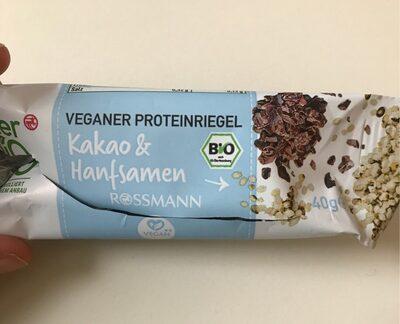 Veganer Proteinriegel