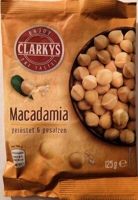 Clarkys Macadamia geröstet & gesalzen