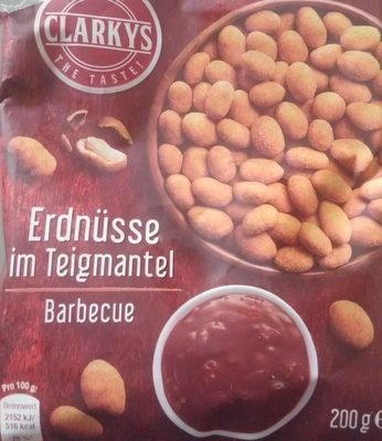 Erdnüsse im Teigmantel - Barbecue