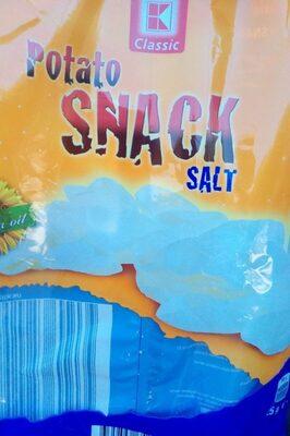 Potato snack salt