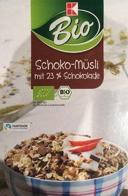 Bio Schoko-müsli Mit 23% Schokolade K-classic,SCH. ..