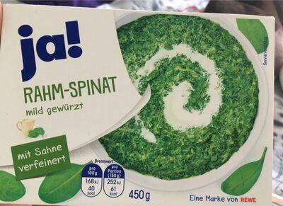Rahm-spinat