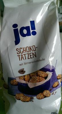 Schokotatzen mit Bitterschokolade