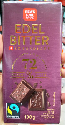 Edelbitter Schokolade