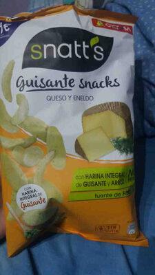 guisantes snacks