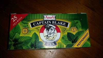 tea peppermint, capitan blake