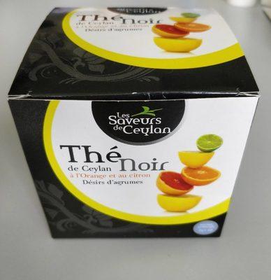 Thé Noir de Ceylan Désirs d'agrumes