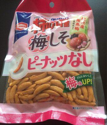 Crackers de riz au goût umeboshi