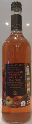 Irresistible Sparkling Apple & Raspberry with a hint of Rose Pressé