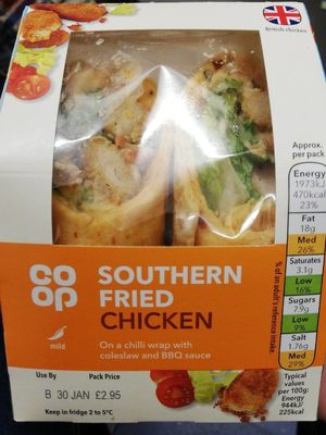 Southern fried chiken