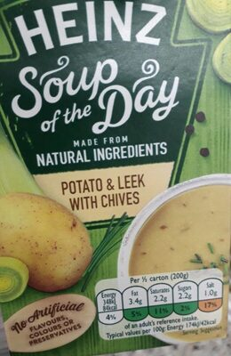 Heinz Soup of the Day Patato & Leek with Chives