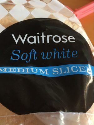 Waitrose Soft White Medium Sliced