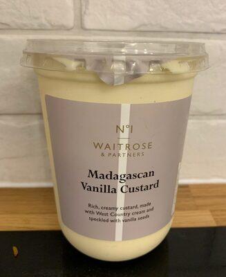 Madagascan vanilla custard