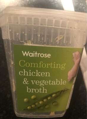 Comforting chicken & vegetable broth