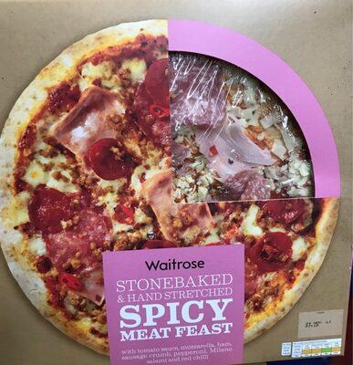 Spicy meat feast Waitrose Pizza