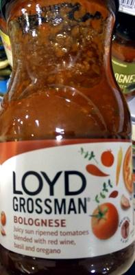 Loyd Grossman bolognese original