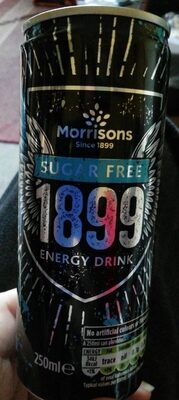 Sugar free 1899 energy drink