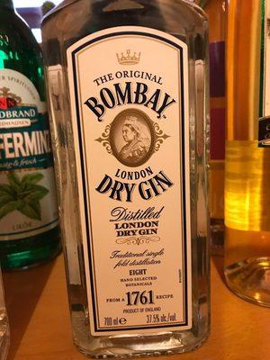 Gin Bombay Dry 37,5% Vol. London Dry Gin 1X0,70 Liter