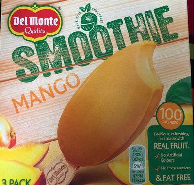 Del Monte Mango Iced Smoothie 3 X 90Ml