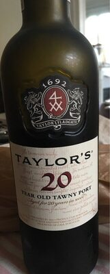 Taylor's 20 Year Old Tawny Port, 75 CL