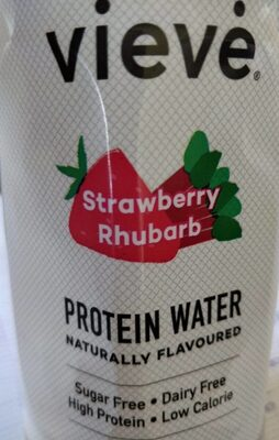 Protein Water,Strawberry Rhubarb