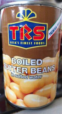 Boiled butter beans
