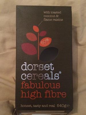 Dorset cereals fabulous high fibre