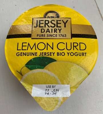 Lemon Curd Genuine Jersey Bio Yogurt