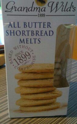 All butter short bread melts