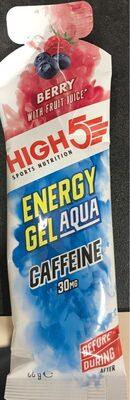 Energy gel aqua
